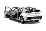 Car images close up view of a 2017 Hyundai Ioniq Plug-In Hybride Executive 5 Door Hatchback doors
