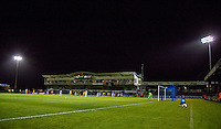 General view of play during the Johnstone's Paint Trophy match between Bristol Rovers and Wycombe Wanderers at the Memorial Stadium, Bristol, England on 6 October 2015. Photo by Andy Rowland.
