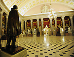 """Statuary Hall US Capitol Washington DC, Statuary Hall, Inside US Capitol, Rotunda of US Capitol, United States Capitol Washington D.C., United States Capital and legislature, Federal government of the United States of America Washington D.C., National Mall, Capitol Hill, Capitol, Capital, quadrants of the District, East and West side of the Capitol 'fronts,"""" East side of Capitol side to arrive for visitors, American Neoclassicism, Architect William Thornton, United States Constitution ratification 1789, L'Enfant, surrounding area of Washington DC, US Capitol, Capitol, United States Congress, Washington, D.C. fine art photography by Ron Bennett (c). Copyright,  Washington DC, District, DC, capital, Potomac River, Washington Metropolitan, metropolitan area, federal district, federal government of USA, US Congress, White House, National Mall, Politics in the United States, Presidential, Federal Republic, united States Congress, powers, Judicial Power, House of Representatives, US Senate, Constitution, federal law, Democratic Party, Republican party, two party system, Fine Art Photography by Ron Bennett, Fine Art, Fine Art photo, Art Photography, Bennett Photography, Bennett, award winning photography,"""