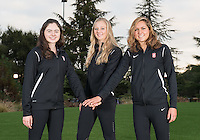 Stanford, Ca - October 4, 2016: The 2016-2017 Stanford Synchronized Swimming Team. Junior Class
