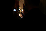 """© REMI OCHLIK/IP3; PARIS; FRANCE LE 04/04/06 - NICOLAS SARKOZY MINISTRE DE L INTERIEUR RECOIT A L HOTEL DE BEAUVAU L ENSEMBLE DES POLICIERS ET DES GENDARMES QUI SONT INTERVENUS LORS DE LA MANIFESTATION ANTI CPE DU 04 AVRIL ....The contrat premiere embauche (CPE), translated first employment contract, was a new form of employment contract pushed in spring 2006 in France by Prime Minister Dominique de Villepin. This employment contract, available solely to employees under 26, would have made it easier for the employer to fire employees by removing the need to provide reasons for dismissal for an initial """"trial period"""" of two years, in exchange for some financial guarantees for employees. ....The law has met heavy resistance from students, trade unions, and left-wing activists, sparking protests in February and March 2006 (and continuing into April) with hundreds of thousands of participants in over 180 cities and towns across France"""