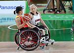 Melanie Hawtin, Rio 2016 - Wheelchair Basketball // Basketball en fauteuil roulant.<br /> Canada vs. China in women's Wheelchair Basketball  // Le Canada contre la Chine en  basketball en fauteuil roulant féminin . 16/09/2016.