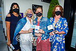 Passports ready to enjoy the evening in Bella Bia on Saturday, l to r: Subata Pallai, Theresa Grimes, Maura Lyons and Geraldine Galvin.