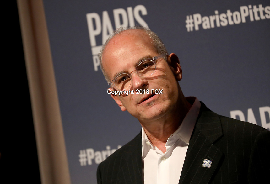 """LONDON, UK - DECEMBER 11:  Jon Kamen attends the London Premiere of Bloomberg and National Geographic's """"Paris to Pittsburgh"""" at the BAFTA Theatre on December 11, 2018 in London, UK. (Photo by Vianney Le Caer/National Geographic/PictureGroup)"""