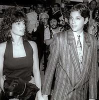 Ralph Maccio Phyllis Fiero  1989<br /> Premiere of Great Balls of Fire<br /> Photo By John Barrett/PHOTOlink