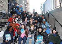 11-18-11  Last Day at OLTL Studio - actors & fans