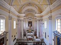 Kirche San Defendente, Poggio, Elba, Region Toskana, Provinz Livorno, Italien, Europa<br /> Church San Defendente, Poggio, Elba, Region Tuscany, Province Livorno, Italy, Europe
