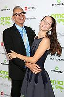 LOS ANGELES - OCT 16:  Jeff Goldblum, Emilie Livingston Goldblum at the Environmental Media Association Awards at GEARBOX LA on October 16, 2021 in Van Nuys, CA