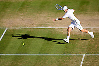 3-7-06,England, London, Wimbledon, forth round match, Berdych