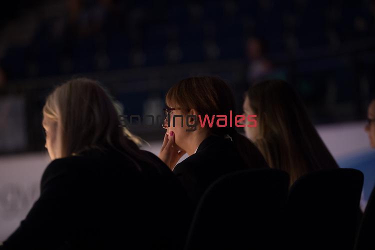 British Gymnastics Championship Series 2017<br /> Judges<br /> Liverpool Echo Arena<br /> ©Steve Pope <br /> Sportingwales