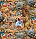 GIORDANO, CUTE ANIMALS, LUSTIGE TIERE, ANIMALITOS DIVERTIDOS, Teddies, paintings+++++,USGI2760,#AC# teddy bears