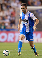 Deportivo de la Coruna's Adrian Lopez during La Liga match. August 20,2017.  *** Local Caption *** © pixathlon