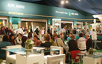 20-2-06, Netherlands, tennis, Rotterdam, ABNAMROWTT, Tennis Plaza with the ABNAMRO sportsbar