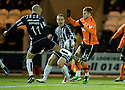 26/01/2011   Copyright  Pic : James Stewart.sct_jsp004_st_mirren_v_dundee_utd  .:: JIM GOODWIN STOPS DAVID GOODWILLIE ::.James Stewart Photography 19 Carronlea Drive, Falkirk. FK2 8DN      Vat Reg No. 607 6932 25.Telephone      : +44 (0)1324 570291 .Mobile              : +44 (0)7721 416997.E-mail  :  jim@jspa.co.uk.If you require further information then contact Jim Stewart on any of the numbers above.........