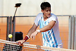 Argentina's Camilo Ugo Carabelli during Junior Davis Cup 2015 match. September  30, 2015.(ALTERPHOTOS/Acero)