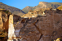 Ruins of the Ayyubids Small Palace in the citadel of ancient Hasankeyf overlooking the Tigris River. Turkey 6