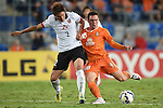 Devante Clut of Brisbane Roar attempts a stoke at goal during the 2015 AFC Champions League match between the Brisbane Roar and the Urawa Red Diamonds on Tuesday, 5 May 2015 on the Gold Coast, Queensland, Australia. Photo by Matt Roberts / World Sport Group