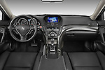 Straight dashboard view of a 2009 - 2014 Acura TL SH AWD Sedan.