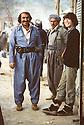Iran 1981.Nabi Qadri ( KDPI) and Dr. Florence Veber in Ouchnou
