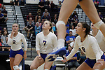 Boswell and Chisholm Trail in bi-district playoff volleyball at Byron Nelson High School in Trophy Club on Tuesday, November 1, 2016.