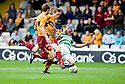 29/08/2010   Copyright  Pic : James Stewart.sct_jsp016_motherwell_v_celtic  .::  STEVEN SAUNDERS PULLS BACK SHAUN MALONEY FOR CELTICS PENALTY ::.James Stewart Photography 19 Carronlea Drive, Falkirk. FK2 8DN      Vat Reg No. 607 6932 25.Telephone      : +44 (0)1324 570291 .Mobile              : +44 (0)7721 416997.E-mail  :  jim@jspa.co.uk.If you require further information then contact Jim Stewart on any of the numbers above.........