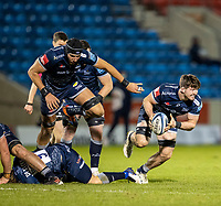 27th December 2020; AJ Bell Stadium, Salford, Lancashire, England; English Premiership Rugby, Sale Sharks versus Wasps; Tom Curry of Sale Sharks makes a break
