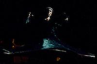 """BOGOTÁ-COLOMBIA-19-04-2014. Presentación de la obra """"Dervish In Progress"""" de Ziya Azazi, Turquía, realizado en el Parque Nacional de Bogotá durante la clausura del XIV Festival Iberoamericano de Teatro de Bogotá 2014./  Play """"Dervish In Progress"""" of Ziya Azazi, Turkey, performed at Parque Nacional of Bogota during decommissioning of the XIV Ibero-American Theater Festival of Bogota 2014.  Photo: VizzorImage/ Gabriel Aponte /Staff"""