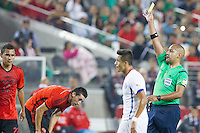 Santa Clara, California - September 6, 2014: Mexico and Chile played to a 0-0 draw in an International friendly at Levi's Stadium.