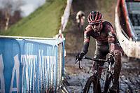 Michael Vanthourenhout (BEL/Pauwels Sauzen-Bingoal)<br /> <br /> Elite Men's Race<br /> Belgian National CX Championships<br /> Meulebeke 2021<br /> <br /> ©kramon