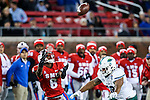 Southern Methodist Mustangs running back Braeden West (6) in action during the game between the Tulane Green Wave and the SMU Mustangs at the Gerald J. Ford Stadium in Dallas, Texas.