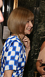 "Anna Wintour attends the Broadway Opening Night performance of ""Sea Wall / A Life"" at the Hudson Theatre on August 08, 2019 in New York City."