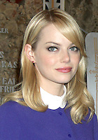 June 25, 2012 Emma Stone of The Amazing Spider-man film, attend the lighting ceremony  to support Stand Up to Cancer at the Empire State Building in New York City. © RW/MediaPunch Inc. **NORTEPHOTO.COM*<br /> **SOLO*VENTA*EN*MEXICO**<br /> **CREDITO*OBLIGATORIO** <br /> **No*Venta*A*Terceros**