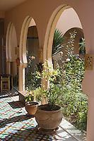 Afrique/Afrique du Nord/Maroc/Rabat: Hotel - Maison d'Hote Villa Mandarine le patio [Non destiné à un usage publicitaire - Not intended for an advertising use]