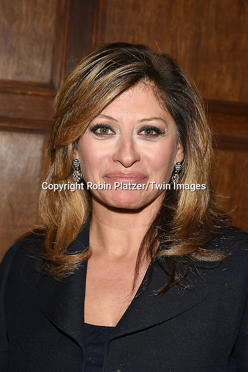 honoree Maria Bartiromo attends the Library of American Broadcasting  Annual Giants of Broadcasting Luncheon on October 6, 2016 at Gotham Hall in New York City. <br /> <br /> photo by Robin Platzer/Twin Images<br />  <br /> phone number 212-935-0770