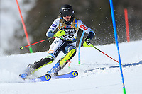 20th February 2021; Cortina d'Ampezzo, Italy; FIS Alpine World Ski Championships, Women's Slalom; Ana Bucik (Slo)
