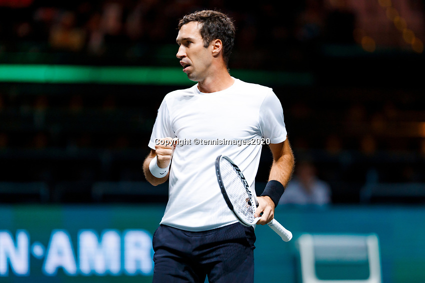 Rotterdam, The Netherlands, 12 Februari 2020, ABNAMRO World Tennis Tournament, Ahoy, Mikhail Kukushkin (KAZ).<br /> Photo: www.tennisimages.com