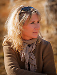 Portrait einer blonden Frau, 40er Jahre | Portrait of a blonde woman, 40 years