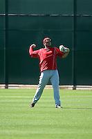 Rookie Davis - Cincinnati Reds 2016 spring training (Bill Mitchell)