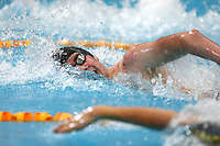 Michael Mincham swims the Mens 200m during Session Two of the 2015 New Zealand Short Course Championships, Sir Owen G. Glenn National Aquatic Centre, Auckland, New Zealand, 11 August 2015. Photo: Simon Watts/www.bwmedia.co.nz