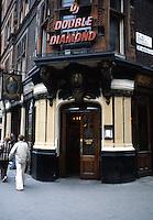 London: The Salisbury Pub, St. Martin's Lane.