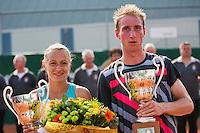 19-08-12, Netherlands, Amstelveen, NTK, Winnaars Olga Kalyuzhnaya en Mark de Jong