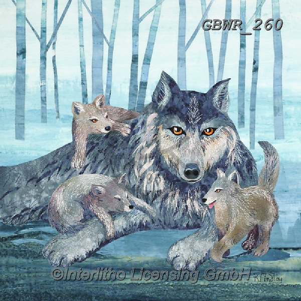 Simon, REALISTIC ANIMALS, REALISTISCHE TIERE, ANIMALES REALISTICOS,wulf,wolves, paintings+++++,GBWR260,#a#, EVERYDAY