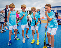Den Bosch, Netherlands, 14 June, 2018, Tennis, Libema Open, Meet & Beat Robin Haase (NED)<br /> Photo: Henk Koster/tennisimages.com