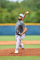 Tampa Bay Rays pitcher Christian Fernandez during an Extended Spring Training intrasquad game on June 15, 2021 at Charlotte Sports Park in Port Charlotte, Florida.  (Mike Janes/Four Seam Images)
