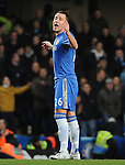John Terry of Chelsea in action during the Barclays Premiere League match between Chelsea and West Ham United at Stamford Bridge on Sunday March 17, 2013 in London, England Picture Zed Jameson/pixel 8000 ltd.