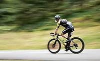 Christopher Juul-Jensen (DEN/Michelton-Scott) down the Col de Marie Blanque (HC)<br /> <br /> Stage 9 from Pau to Laruns (153km)<br /> <br /> 107th Tour de France 2020 (2.UWT)<br /> (the 'postponed edition' held in september)<br /> <br /> ©kramon