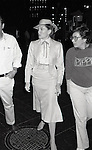 Ann Reinking during the filming of 'Annie' on location at Radio City Music Hall on May 1, 1982  in New York City.