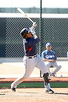 Jesus Aguilar - Cleveland Indians - 2010 Instructional League.Photo by:  Bill Mitchell/Four Seam Images..