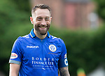 Queen of the South v St Johnstone…18.08.18…  Palmerston    BetFred Cup<br />Former saintee Stephen Dobbie<br />Picture by Graeme Hart. <br />Copyright Perthshire Picture Agency<br />Tel: 01738 623350  Mobile: 07990 594431