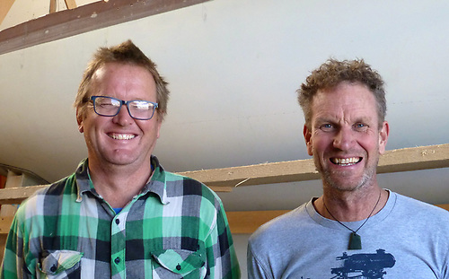 Steve Morris and Dan Mill are bringing Antipodean skill and ingenuity to the boat-building scene in West Clare